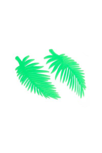 Yaprak Figür Küpe