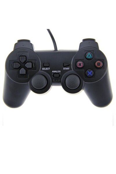 Analog Kumanda Kablolu Kol Pc Gamepad Dual Shock