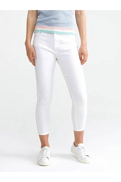 Xınt Yüksek Bel Pamuklu Skinny Fit Denim Pantolon
