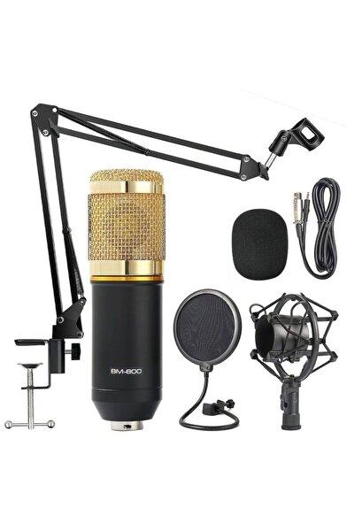 Bm800 Profesyonel Stüdyo Youtuber Kayıt Mikrofonu