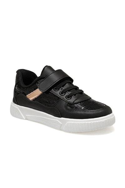 YUSA Siyah Kız Çocuk Sneaker 100570645