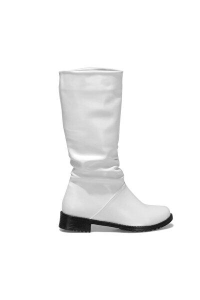 ALFAZ Beyaz Kadın Çizme 101030247