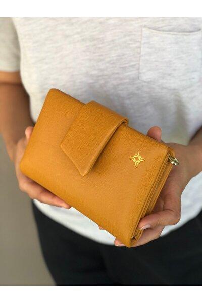 Sarı Kadın Cüzdanı