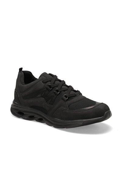 CTN14 Siyah Erkek Kalın Taban Sneaker Spor Ayakkabı 100439619