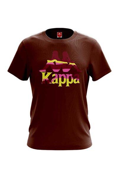 Erkek Kahverengi Zelkal  Baskılı T-shirt
