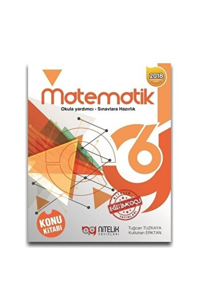 Nitelik 6.sınıf Matematik Konu Kitabı *yeni* 2019 ( Gökhan Önel )
