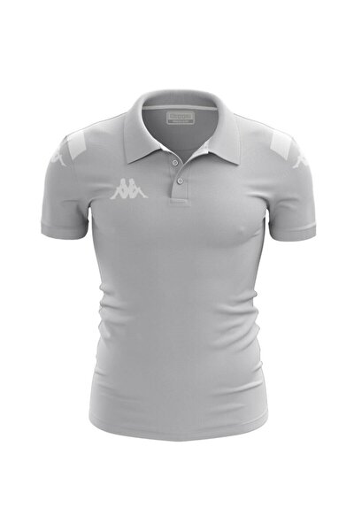 304j710 Player Kamp Polo T-shirt Abıang4 _ Gri L