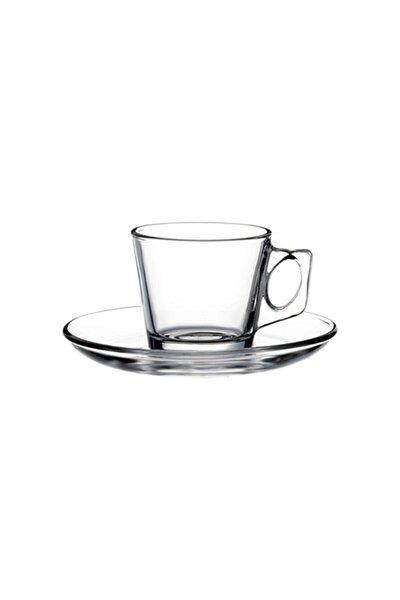 Vela Espresso Fincanı Tabaklı 80 Cc 6 Adet
