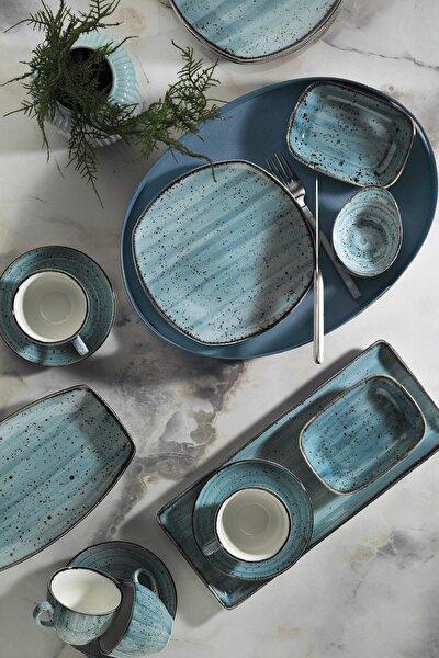 Corendon Mavi 30 Parça Kahvaltı Takımı