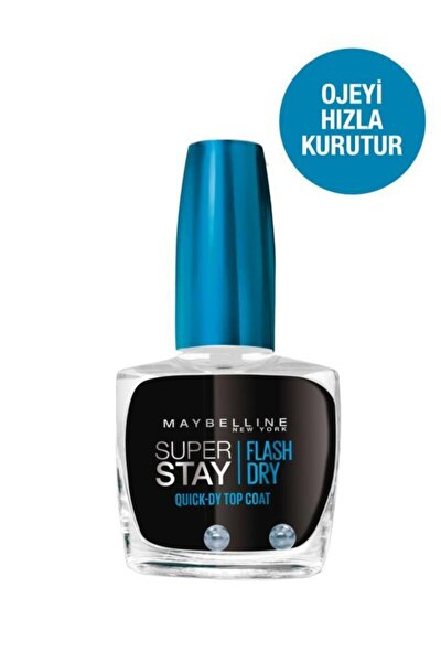 Super Stay Hızlı Kurutucu Cila / Top Coat.