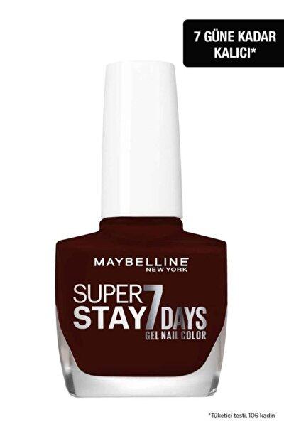 Super Stay 7 Days Jel Oje 287 Midnight Red (koyu Kırmızı / Bordo)