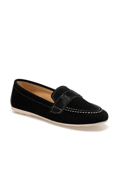 ADEL Siyah Kadın Loafer Ayakkabı 100573646