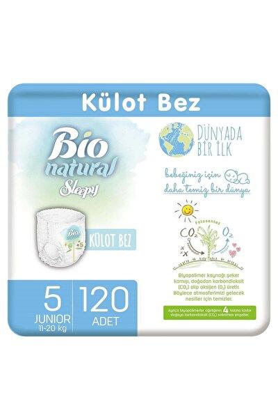 Bio Natural Külot Bez 5 Numara Junior 120 Adet