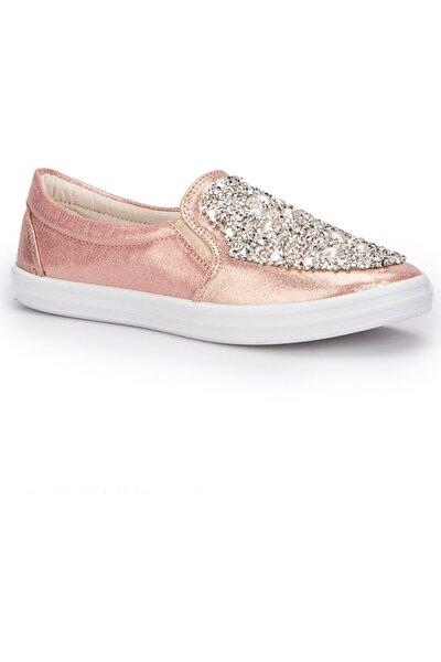 71.354979.z Kadın Sneaker Taşlı Babet Ayakkabı