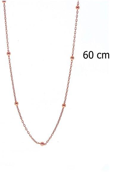Gümüş 60 Cm Top Top Zincir