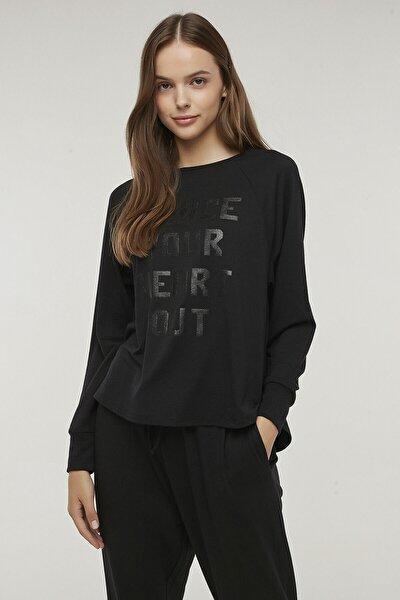 Siyah Dance Sweatshirt