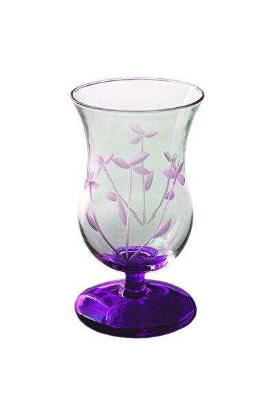 Gelin Çiçeği (Mor) Gala Çay Ve Kahve Bardağı 4 Adet