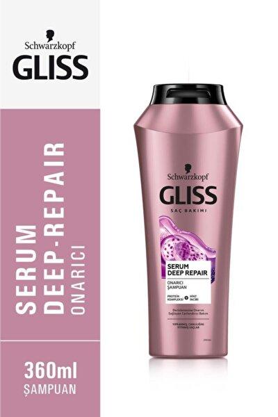 Schwarzkopf Gliss Serum Deep Repair Onarici Şampuan 360 Ml