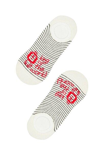 Marşmelov Erkek Çocuk King Sneaker Çorabı