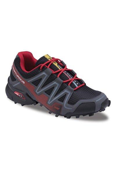 Erkek Siyah Outdoor  Günlük Comfort Spor Ayakkabısı