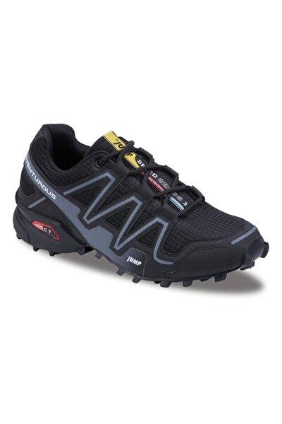 Erkek Siyah Outdoor Günlük Comfort Spor Ayakkabısı 21513