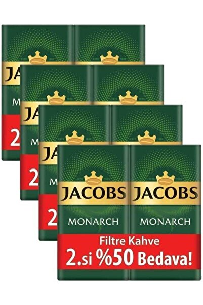 Monarch Filtre Kahve 2 X 500 gr  4'lü Set  4 kg
