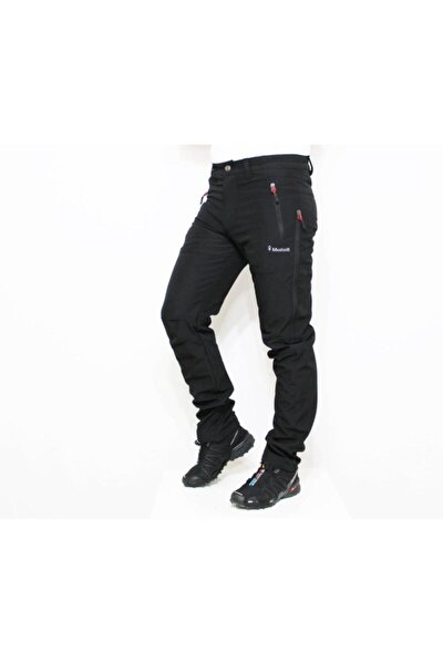 Mudwıll Polarsız Softshell Siyah Pantolon 250103
