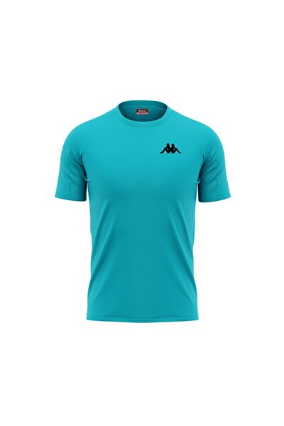 Erkek Turkuaz Poly Bux T-shirt