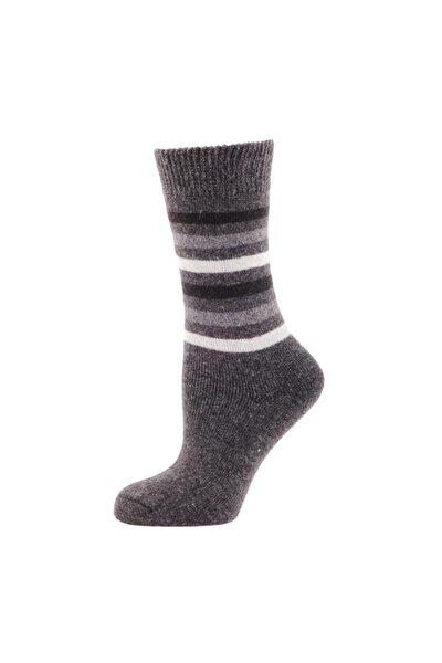 Casual Wool Socks Erkek Çorap Antrasit