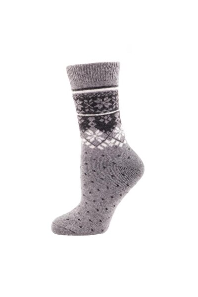 Casual Wool Socks Çorap Gri