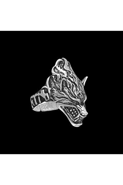 Kurt Baş Parmak Erkek Yüzük - Yüz0093