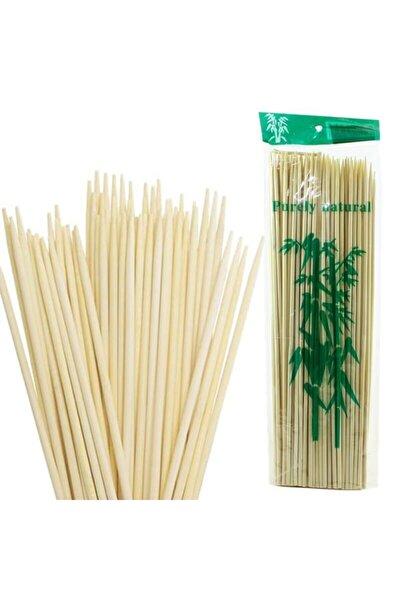 Bambu Çöp Şiş, Kurabiye Çubuğu, 25 Cm, 90 Adet