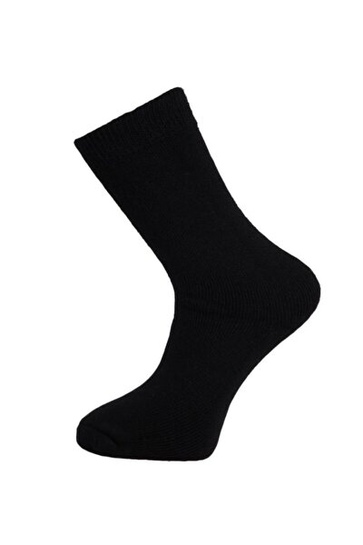 Casual Wool Erkek Çorap Siyah