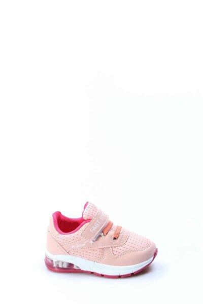 Somon Fuşya Bebek Sneaker Ayakkabı 877ba105p