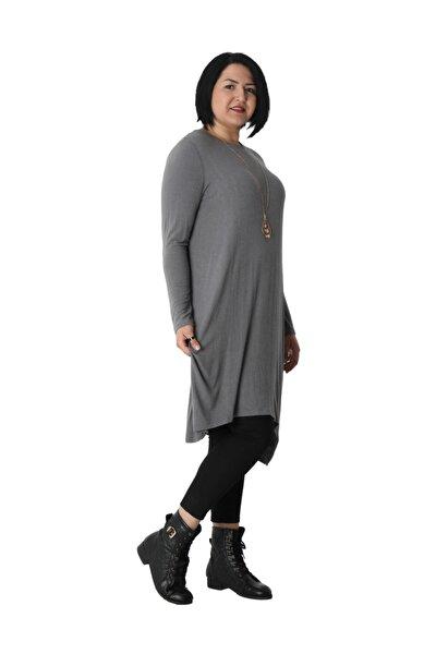 Kadın Tunik Rg6240 Sonbahar Kış O Yaka Triko