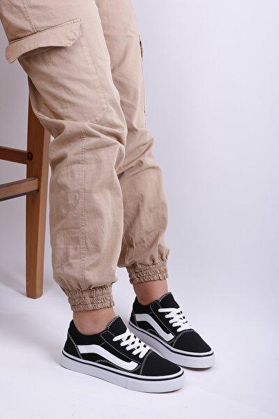 123418 Siyah/beyaz Sneaker