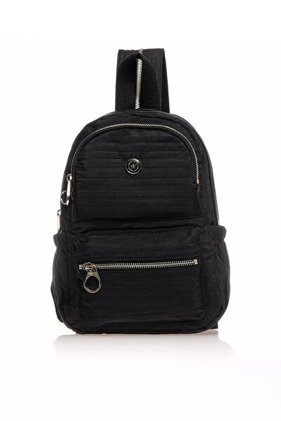 Smb3021-0001 Siyah Kadın Sırt Çantası
