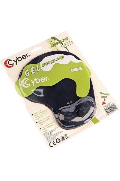 Cyber Ergonomik Bilek Destekli Jel Mousepad Siyah