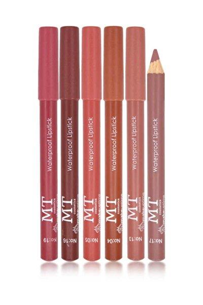 Dudak Kalemi 6'lı Set - Lip Pencil