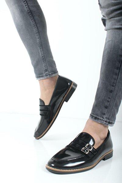 Bonar Çift Toka Erkek Klasik Ayakkabı