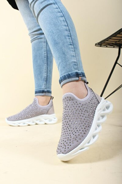 Florin Taşlı Esnek Kadın Sneaker