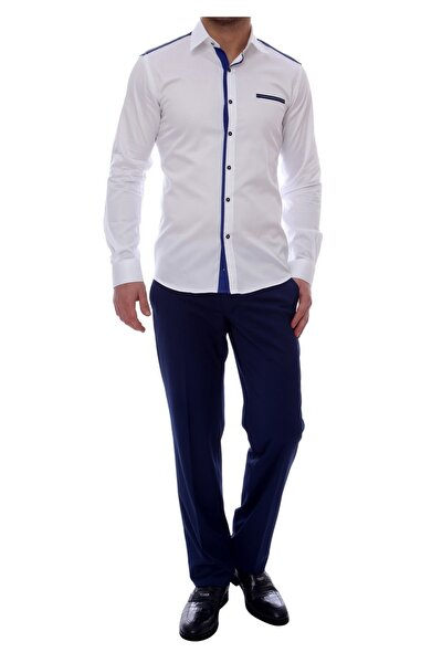 P 888 Slim Fit Parlement Klasik Pantolon