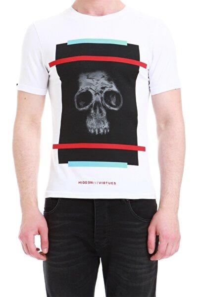 Ts 750 Slim Fit Beyaz Spor T-shirt