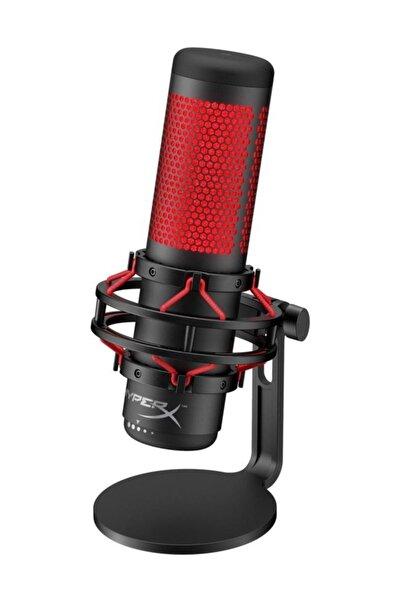 Quadcast Oyuncu Mikrofonu - Kırmızı