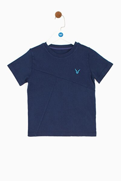 Erkek Çocuk Lacivert T-shirt