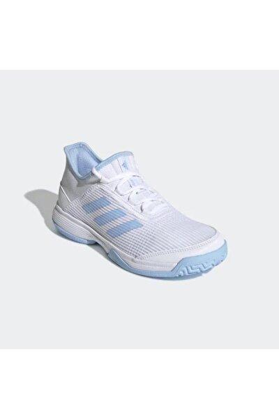 G26837 Adizero Beyaz Çocuk Tenis Ayakkabısı
