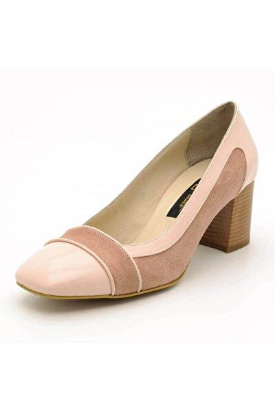 5675 Pembe Büyük Numara Kadın Ayakkabısı