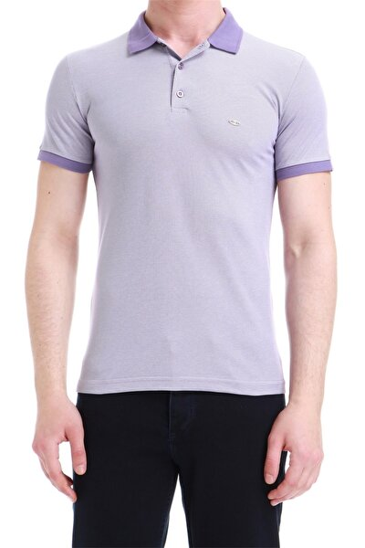 Ts 728 Slim Fit Mor Spor T-shirt