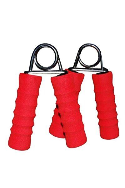 Sünger Kaplı Çelik El Yayı Kırmızı 2 Adet (Sym-142)