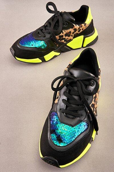 Siyah/sarı Sneaker